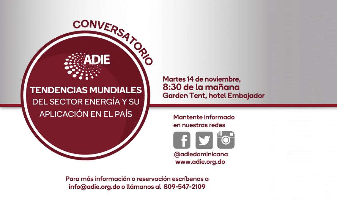 ADIE auspicia conversatorio sobre nuevas tendencias en sector eléctrico.