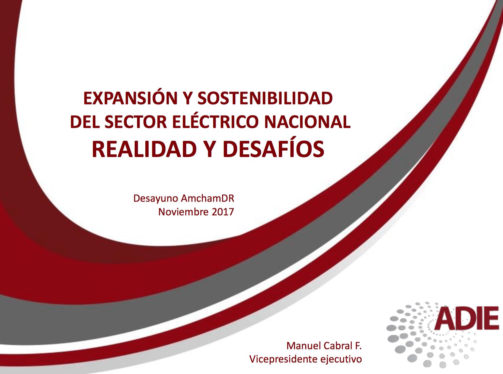 Presentación MC - Desayuno Comité de Energía AmchamRD