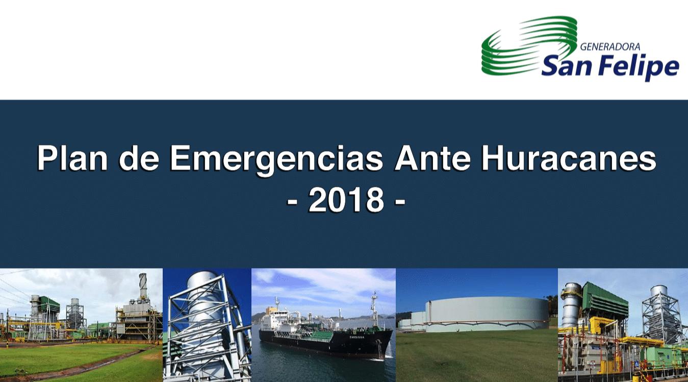 Plan de Emergencias Ante Huracanes