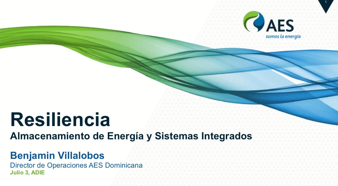 Resilencia - Almacenamiento de Energía y Sistemas Integrados