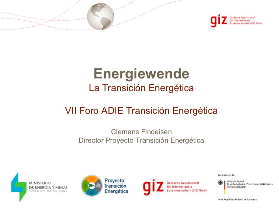 Transición Energética GIZ - Clemens Findeisen